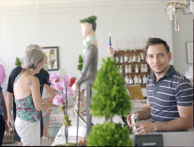 Michael Buess, owner, Bodega Shoppe
