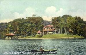 The giltterati from New York City and Philadelphia traveled to Ross-Fenton Farm in Wanamassa, NJ, in the early 1900's.