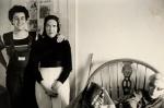 Newkirk with Little Edie, 1976