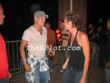 Bruce Springsteen with Crush party producer Jill Potter in 2009.
