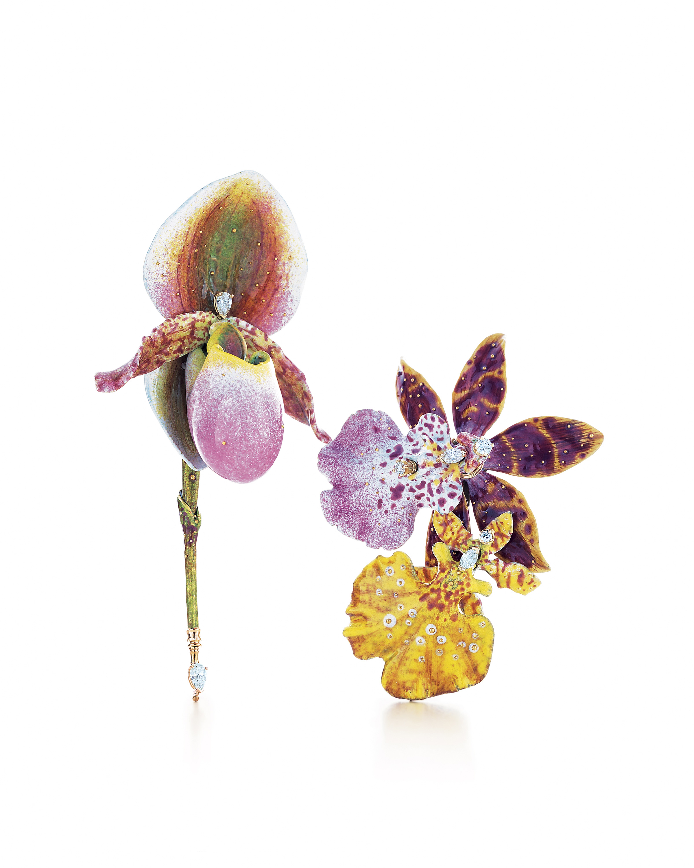 Orchid Trellis New Diamontrigue Jewelry: FAB IS IN BLOOM: EXCLUSIVE LOOK AT NEW TIFFANY BROOCHES