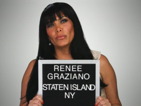 MOB WIVES RENEE GRAZIANO WE ARE NOT YOUR AVERAGE WOMEN ONLY