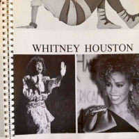 WHITNEY HOUSTON'S 1986 MODELING 'LOOK BOOK': ONLY HERE!