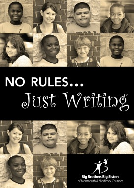 """No Rules, Just Write"" book from Big Brothers Big Sisters features the writings of local youth."