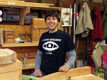 Jason Stumpf designer and studio craftsman based in Asbury Park
