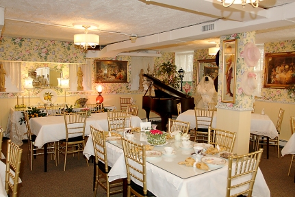 Lillagaard in Ocean Grove's tea room has undergone a makeover, featuring new seating, tables, lighting and accessories.