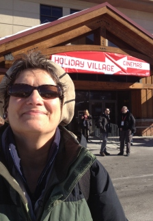Nancy Sabino of The ShowRoom at the Sundance Film Festival, January 2013.
