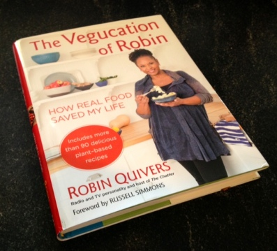 """Robin Quivers' new book, """"Vegucation of Robin"""" will now publish in October of 2013."""