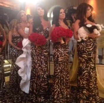 UPDATE 9/2/13:  Photo of bridesmaids at Tracy's wedding on Friday, August, 30 in Northern New Jersey.