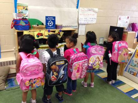 Trinity Church has been named a Jubilee Ministry Center because of its work in the community, including it's backpack ministry.