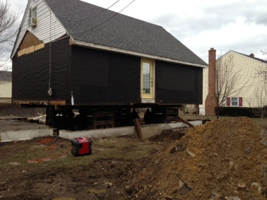 A Shark River Hills area home Coastal Habitat for Humanity is working on.