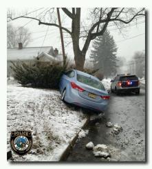 Images distributed recently by the Ocean Township Police Department's email, text and tweet communication platforms for residents.  The free alerts help residents better understand local weather, traffic and safety issues.