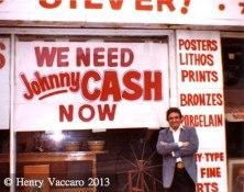 Johnny Cash .  Photo Courtesy Henry Vaccaro Sr.