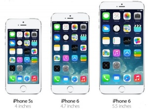 The Apple iPhone 6 was unveiled Tuesday.