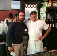 Jay Vacchiano and Dino at the Bar Room in Deal.