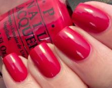 Hot holiday nail polish colors include