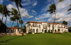 Former Kennedy compound in Palm Beach.