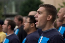 "200 men comprise the NYC Gay Men's Chorus.  The group is bringing the ""Big Gay Sing-Off"" to the Berkeley Hotel, March 15.  Admission is ""pay what's fair."""