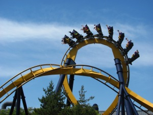 Six Flags Great Adventure's Batman The Ride will