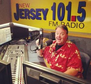 NJ 101.5 radio station's Big Joe Henry is the grandmaster of the Asbury Park Saint Patrick's Day Parade.