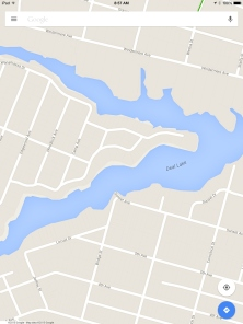 Google and other GPS direction services have removed Sunset Bridge from maps, rather than note it as under construction.