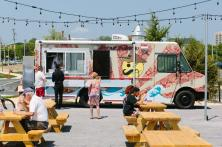 North Eats, the country's first food truck park is no open on Seventh Avenue at the Boardwalk in Asbury Park.