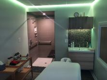 Kur treatment rooms are sensory-optimized for the individualized comfort of every guest.
