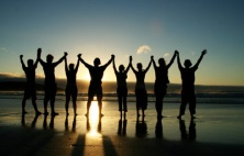 Show your support for those fighting cancer by forming a human chain with 3000 others Saturday, October 25 at 7 am.