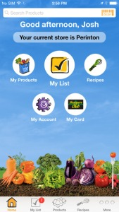 Wegmans recently introduced a new version of its mobile app.